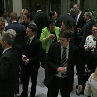 Guests at the June 8th Lawyer Appreciation 5-7 Event. Photo by Elodie Drew.