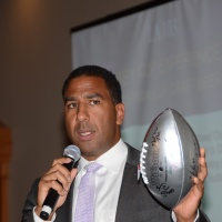 Guest Auctioneer, Jock Climie - Lawyer, retired CFL PLayer & TSN Analyst