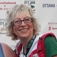 "JOANNE SILKAUSKAS - Executive Director, Reach - Ottawa 5K - Fundraising Goal: $500 - ""For 38 years, this little -engine -that -could, supports people with diverse disabilities in the Ottawa region, seek legal services. In 2018, Reach, a non profit self funded charity, serving the community with the support of dedicated volunteers, reached- out into the community by bringing its services directly to individuals and extended its services in regions outside Ottawa. 